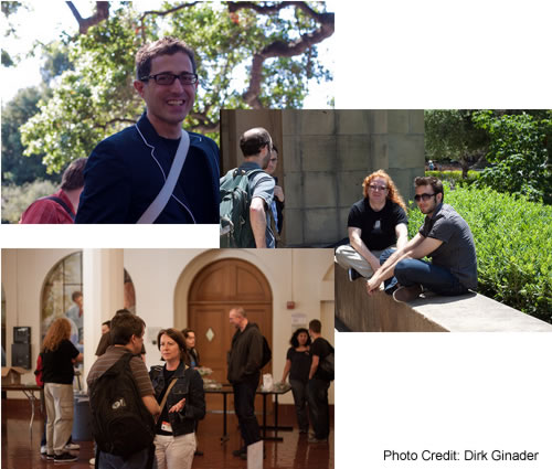 [Photo Collage: attendees at OpenWebCamp III]