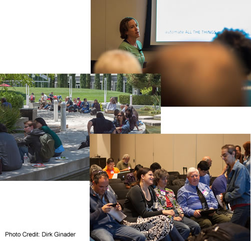 [Photo Collage: Candid shots from Open Web Camp IV]